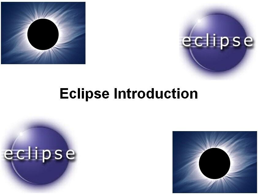 Course Eclipse Introduction