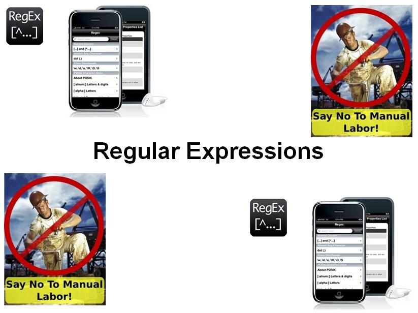 Cursus Reguliere Expressies