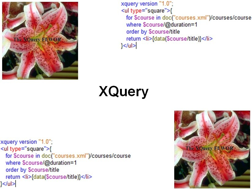 Course XQuery