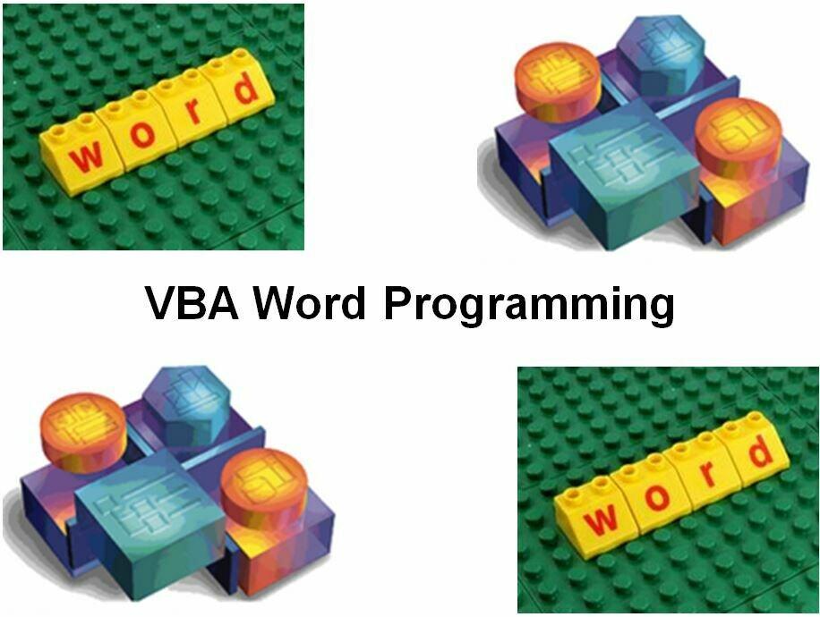 Vba word 宏编程参考手册
