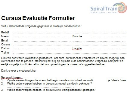 evaluationform