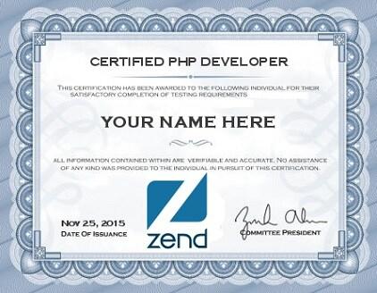php-developer-certificate