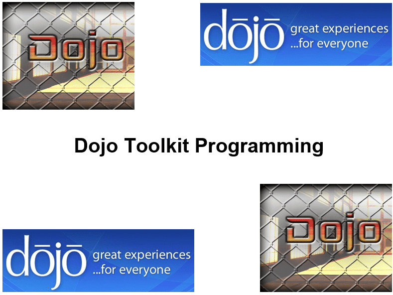 Course Dojo Toolkit Programming