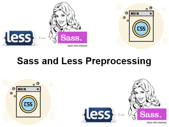 Cursus Sass and Less Preprocessing